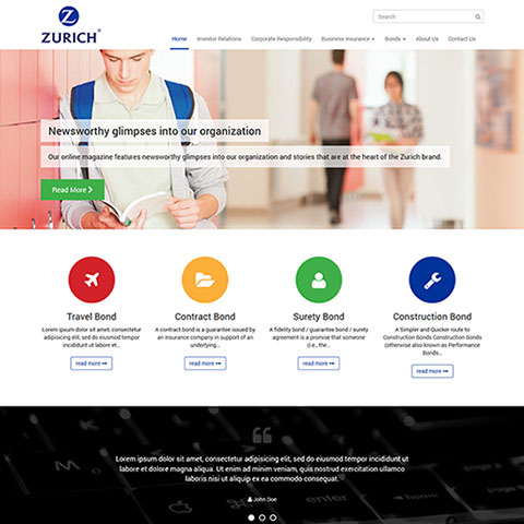 Zurich Insurance Group, Web Designer Nepal